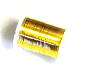 10m reel 28 gauge wire gold
