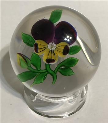 Antique Baccarat Pansy