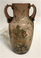 Galle 2 Handled Vase