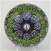 Mike Hunter Concentric Millefiori  Paperweight