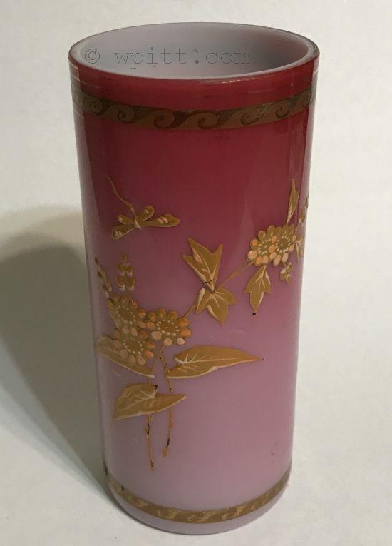 Victorian Art Glass Vase