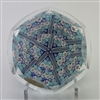 1980 Whitefriars Millefiori Spoke Paperweight