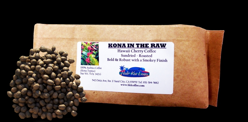 Pure Kona Coffee In The Raw