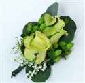 Green Corsage & Boutonniere Package