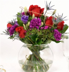 Red-Purple Centerpieces