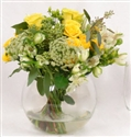 Yellow Centerpieces