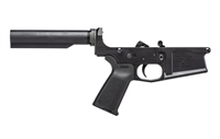 AERO PRECISION M5 (.308) COMPLETE LOWER RECEIVER W/ MAGPUL MOE GRIP & NO STOCK - ANODIZED BLACK