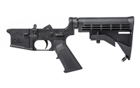 AERO PRECISION AR15 COMPLETE LOWER RECEIVER STANDARD - BLACK