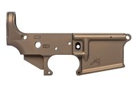AERO PRECISION AR15 STRIPPED LOWER RECEIVER - BURNT BRONZE CERAKOTE