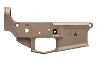 AERO PRECISION M4E1 STRIPPED LOWER RECEIVER TEXAS EDITION - FDE CERAKOTE