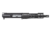 "AERO PRECISION M4E1 THREADED 8"" .300 BLACKOUT COMPLETE UPPER RECEIVER WITH NO FORWARD ASSIST ATLAS R-ONE HANDGUARD - MLOK BLK"