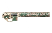 "AERO PRECISION M4E1 BUILDER SET RHODESIAN BRUSHSTROKE CAMO BUILDER SET W/ ENHANCED 15"" MLOK RAIL"