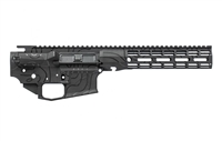 "AERO PRECISION M4E1 BUILDER SET BLACK TOPOGRAPHIC W/ ATLAS R-ONE 9"" MLOK RAIL"