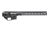 "AERO PRECISION M4E1 BUILDER SET BLACK TOPOGRAPHIC W/ ATLAS R-ONE 15"" MLOK RAIL"