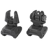 MEPROLIGHT FOLDING BACK-UP SIGHT SET WITH SELF-ILLUMINATED NIGHT SIGHTS
