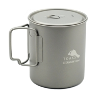 TOAKS Titanium 750ml Pot with lid