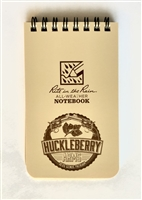 "HUCKLEBERRY ARMS LOGO RITE IN THE RAIN POCKET TOP - SPIRAL 3""x5"""