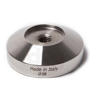 Tamper Stainless Steel D.58mm Flat Base