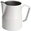 Europa Professional Milk Pitcher 11 oz. Stainless Steel White