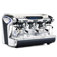 Faema Emblema A Tall + Turbo 3 Group Traditional Espresso Coffee Machine