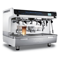 Faema Teorema A Tall Milk4 Turbo 2 Group Traditional Espresso Coffee Machines