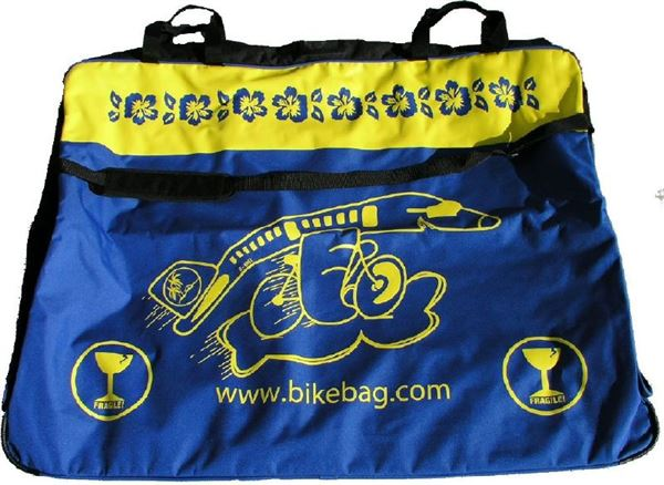 Bicycle carry bag model GROUND bikebag.com carrier cover