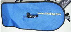 bike chain condom cover for car or train, BLUE bikebag.com