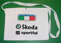 Cycling Feed Bag Musette Skoda Italia White Sportful Tote