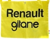 Cycling Feed Bag Musette Renault Gitane Pro Team Yellow Tote