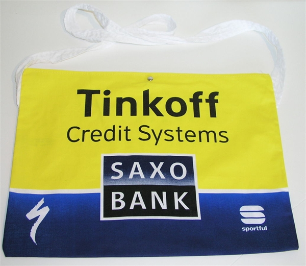 Cycling Feed Bag Musette Saxo Bank Tinkoff Race Pro Tote
