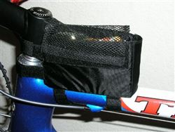 Lunch bento Box for Top Tube,  holder for powerbar powergel and Gu