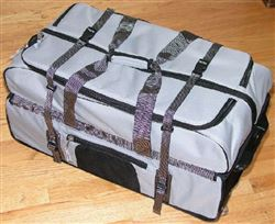 "Super Large 30"" suitcase Wheeled duffel Locker Travel Bag"