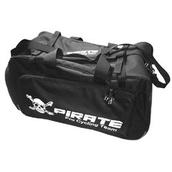 Pirate black embroidered logo XL Travel Bag wheeled NEW