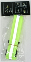Reflective safety belt for running, walking