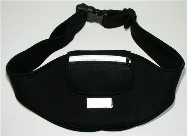 CD Belt, BLACK, adjustable