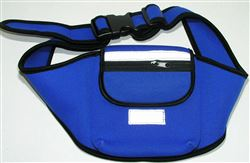 CD Belt, BLUE, adjustable