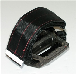 Fixie Toe Straps for Platform Pedals BMX Nylon Velcro Cycling Straps