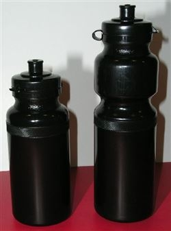 Black 28oz.(0.8lt) bike bottle