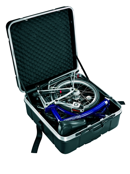 Folding Bike Suitcase fits Brompton and Frog,wheeled Bicycle case