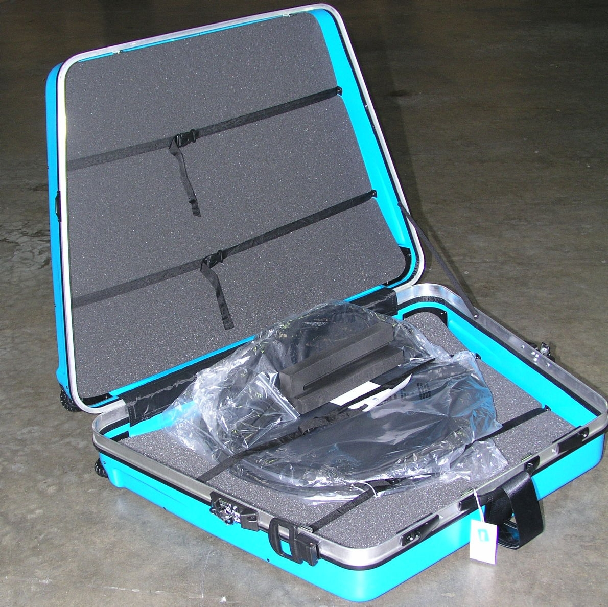 B W Bike Box Blue Abs Hard Case For Bicycles