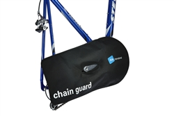 bike chain condom cover for car or train Black B&W Chain Gaurd
