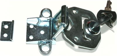 Rotary Butterfly Draw Latch Keyed Southco K4