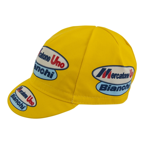 Mercatone Uno Bianchi pro cycling team cap