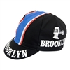 Brooklyn black Retro Chewing Gum Pro cycling cotton cap