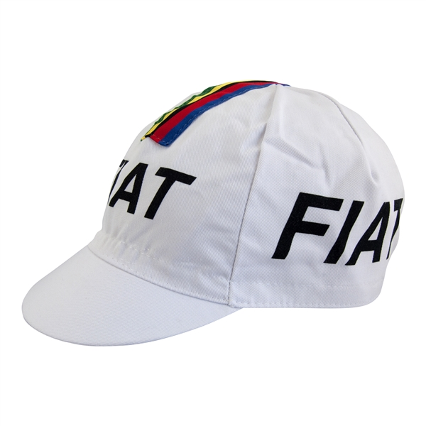 Fiat Retro Cycling Cap Vintage Eddy Merckx