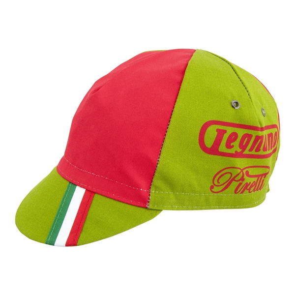 Legnano Pirelli Retro Team Cycling Cap NEW