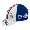 Peugeot Cycles Retro Cycling Cap Striped Merckx Gaul