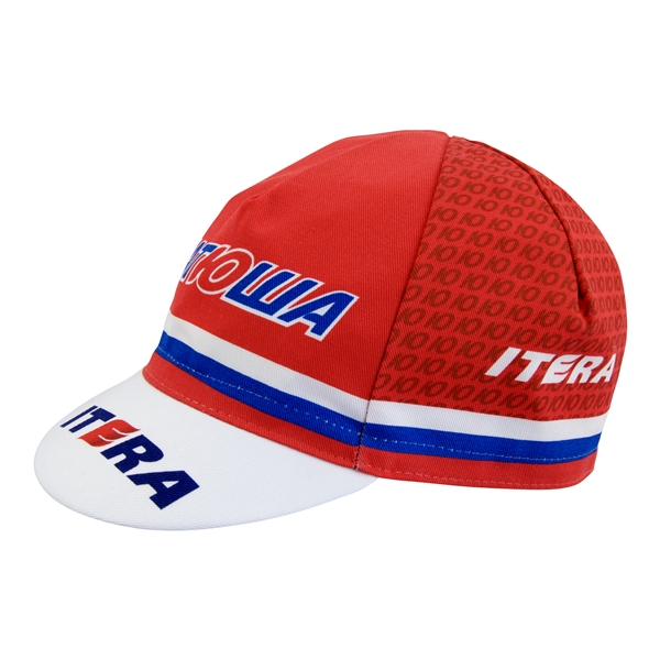 Katollia Iteria RED Russian Pro Team Cycling Cap