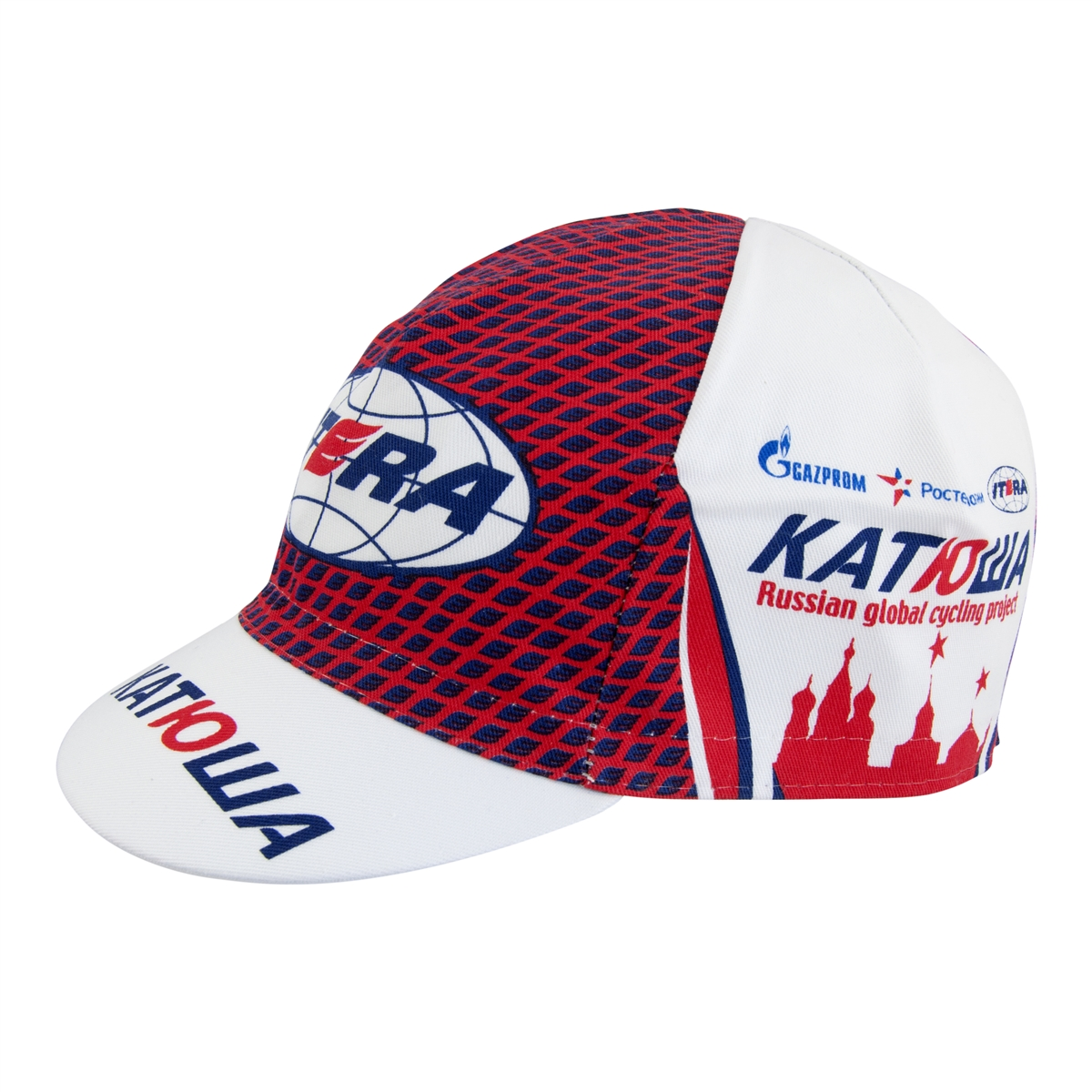 Katushka Red Russian Global Cycling Pro Cotton Cap 51a4a1db2