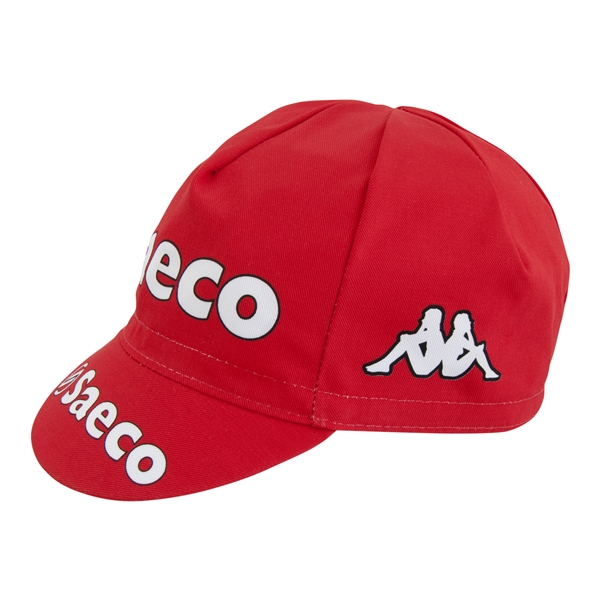 Saeco Pro Team Cotton Cycling Cap espresso cotton